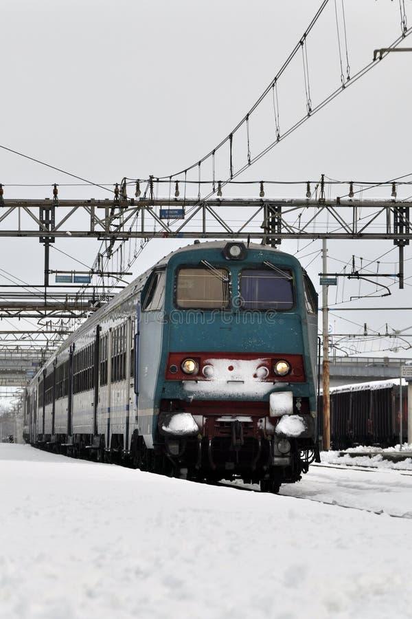 De trein van de passagier royalty-vrije stock foto