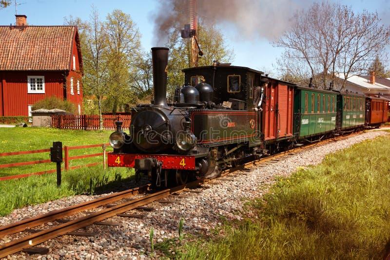 De trein van de veteraan stock afbeeldingen