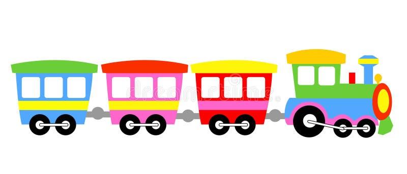 De trein van het stuk speelgoed vector illustratie
