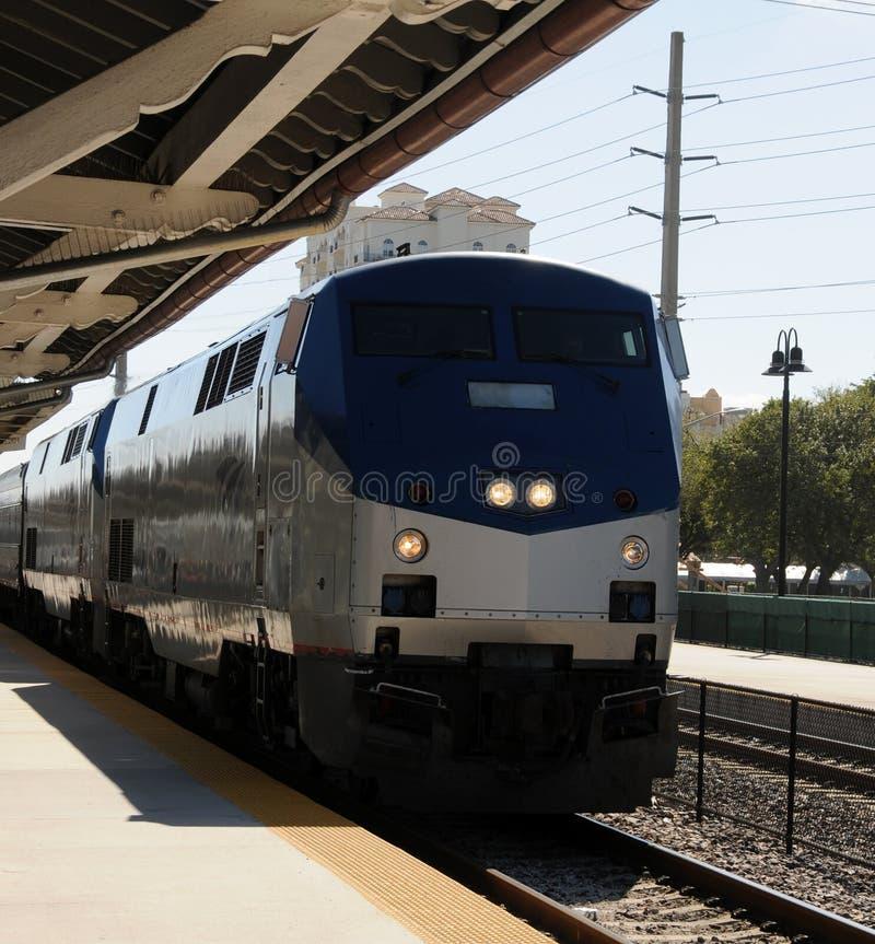 De trein van Passsenger stock fotografie