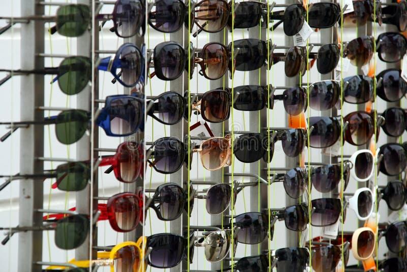 De tribune van glazen stock foto