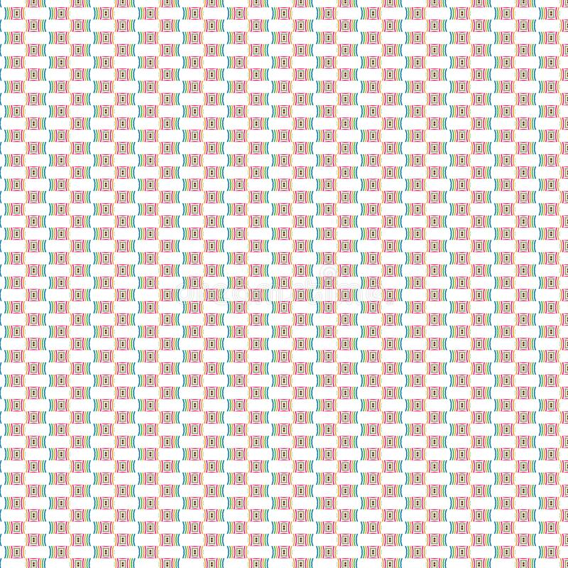 De trillende Abstracte Dynamische Modieuze Unieke Moderne Tegels Dots Pattern Background van de Eenvoudelegantie royalty-vrije illustratie