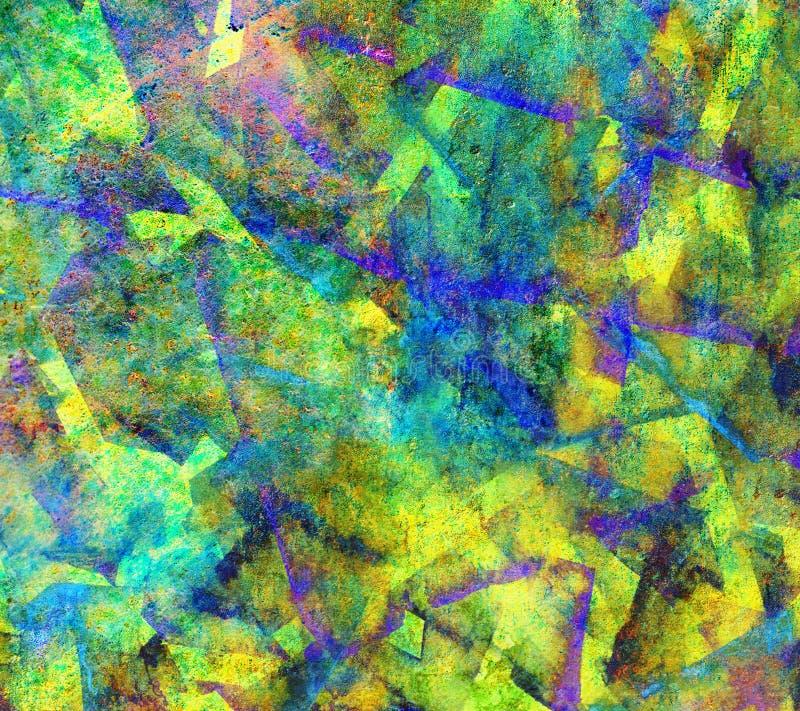 De trillende achtergrond van de kleurentextuur royalty-vrije illustratie