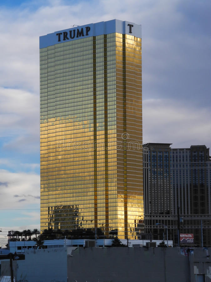 De Troeftoren in Las Vegas, Nevada, de V.S. royalty-vrije stock afbeelding