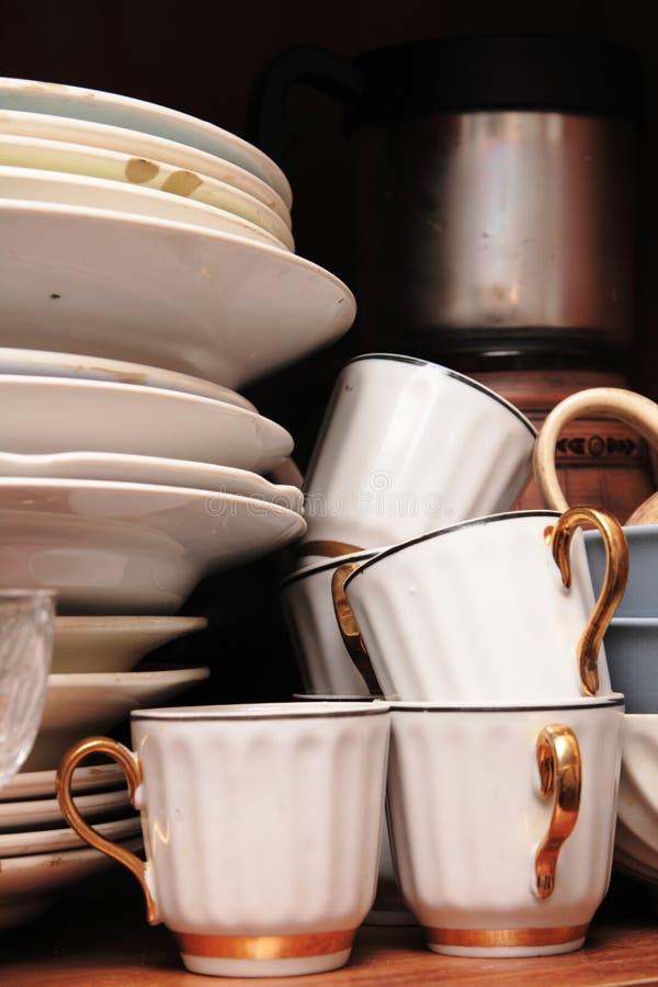 De troep van de keuken royalty-vrije stock afbeeldingen
