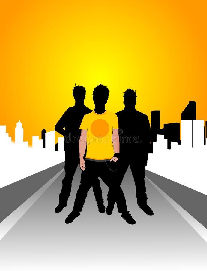 De Troep van de straat stock illustratie
