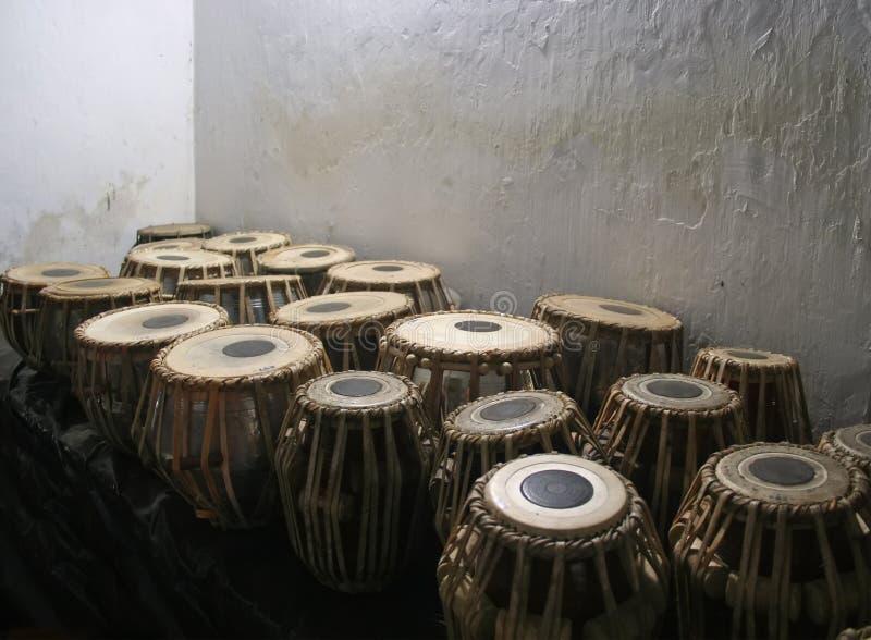 De trommels van Bongo stock afbeelding