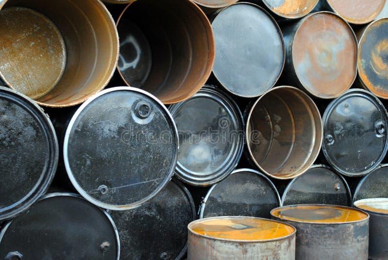 De Trommels van het staal royalty-vrije stock afbeelding