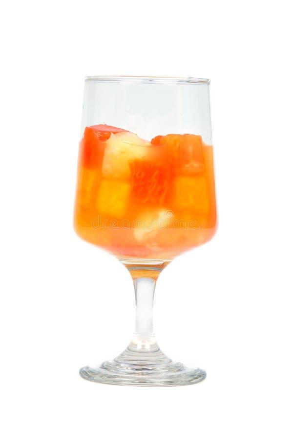 De tropische Cocktail van het Fruit royalty-vrije stock afbeelding