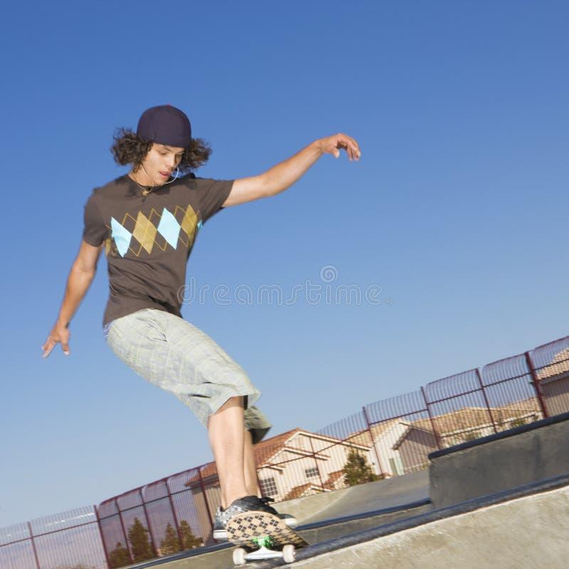 De trucs van het skateboard royalty-vrije stock afbeelding