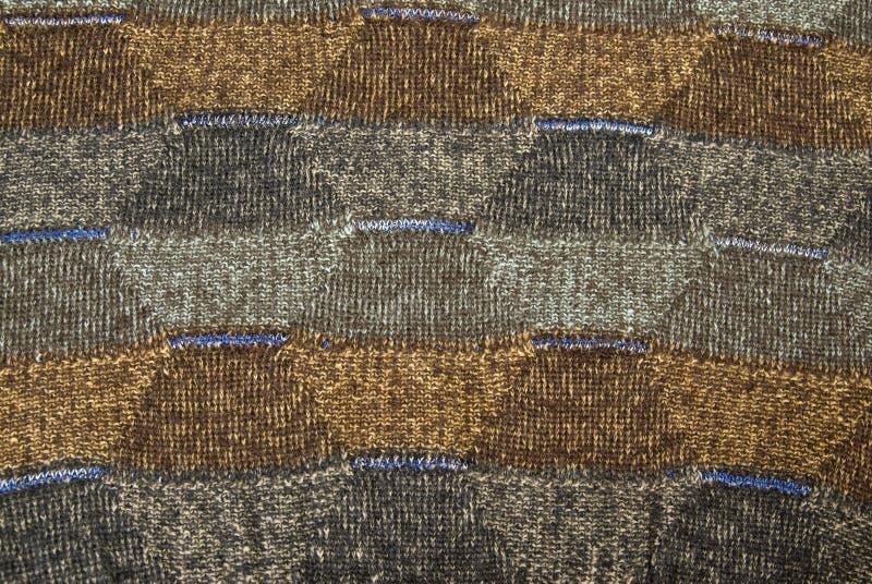 De trui van de wol stock foto