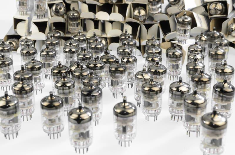 De tube électronique électronique image stock