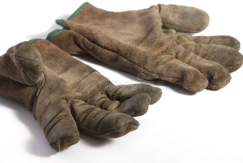 De tuin Gloves 1 royalty-vrije stock afbeelding