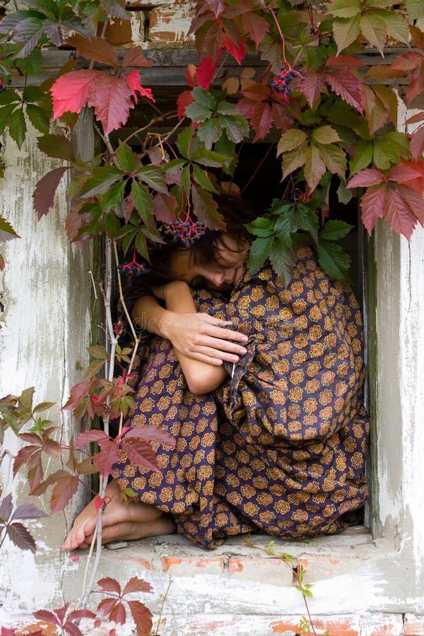 De tuin van de herfst royalty-vrije stock foto