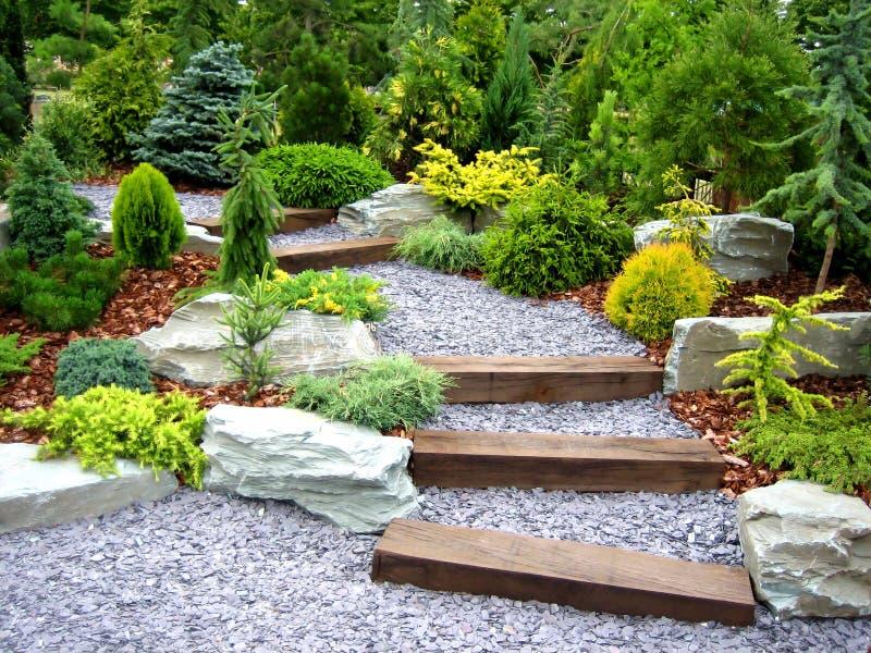 De tuin van de ontwerper royalty-vrije stock afbeelding
