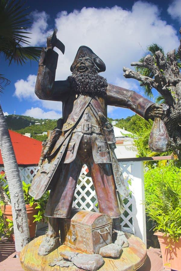 De tuin van de piraat royalty-vrije stock fotografie