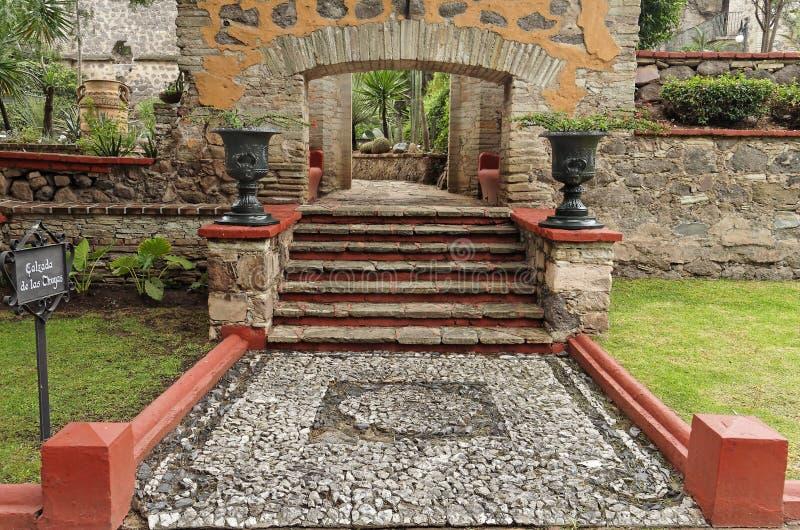 De Tuin van Hacienda royalty-vrije stock fotografie