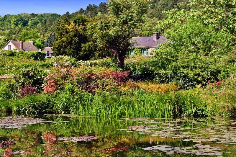 De Tuin van het Water van Monet, Giverny stock foto's