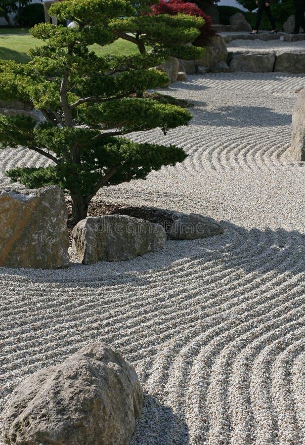 De tuin van het Zenpatroon royalty-vrije stock foto's
