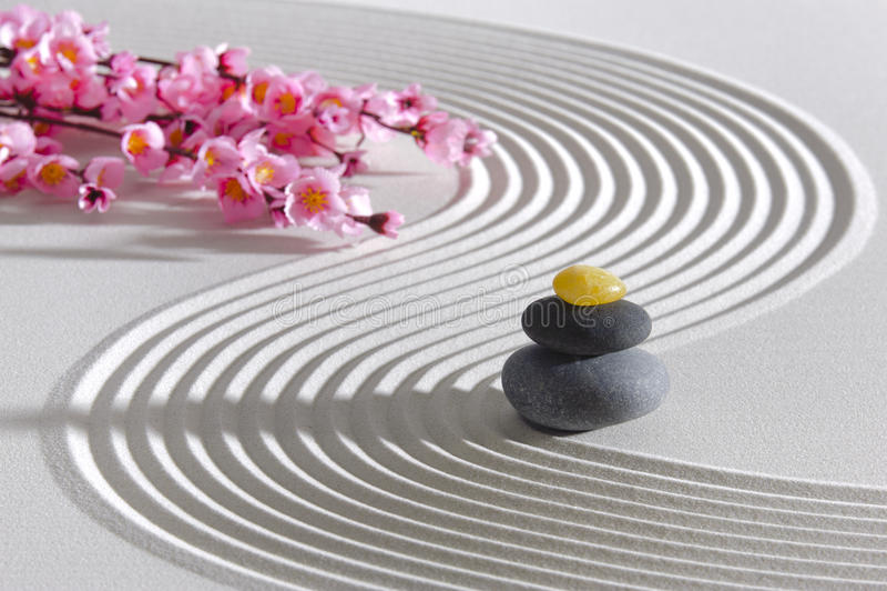 De tuin van Japan zen