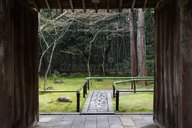 De tuin van Kyoto zen royalty-vrije stock fotografie