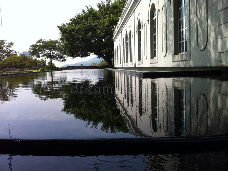 De tuin van Macao royalty-vrije stock fotografie