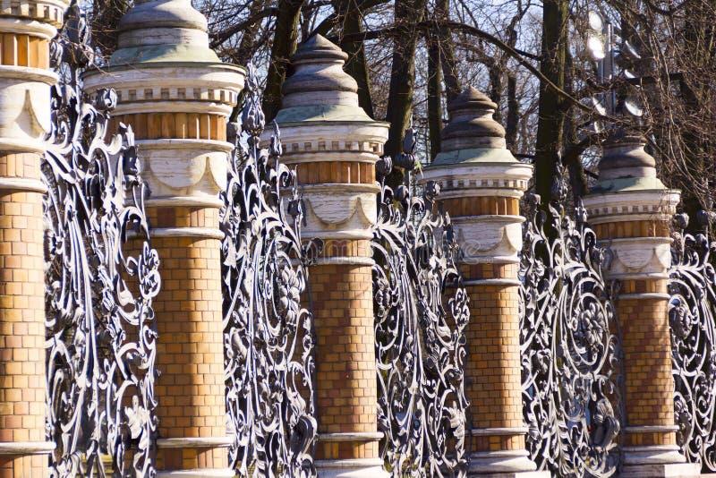 De Tuin van Mikhailovsky van de wachtgrill royalty-vrije stock afbeeldingen