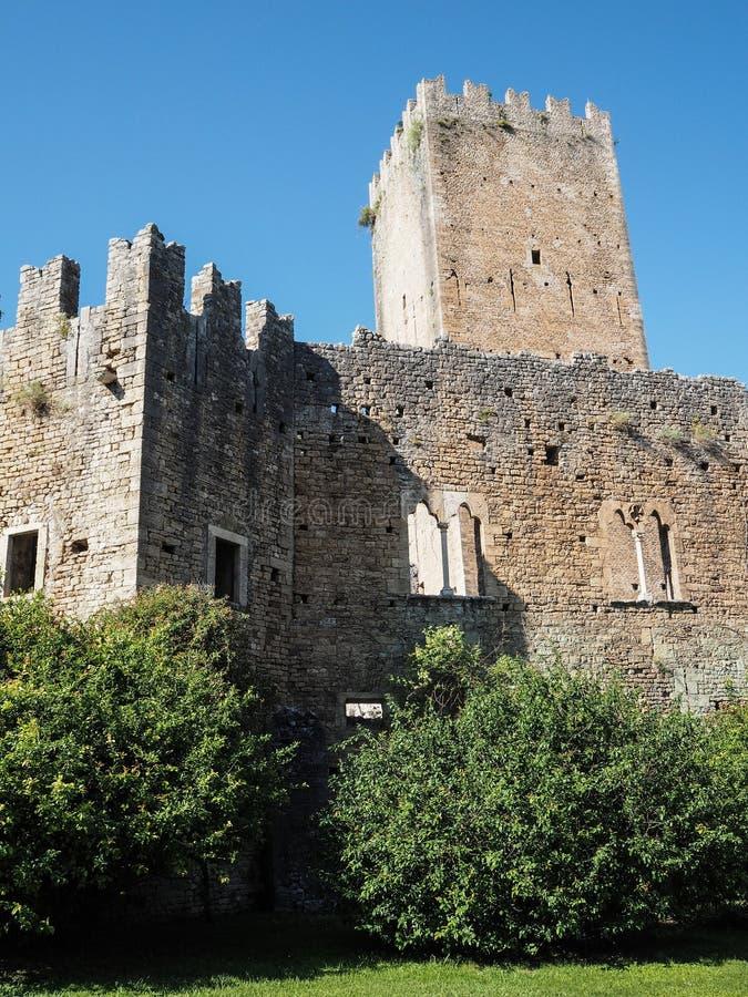 De Tuin van Ninfa in Italië royalty-vrije stock fotografie