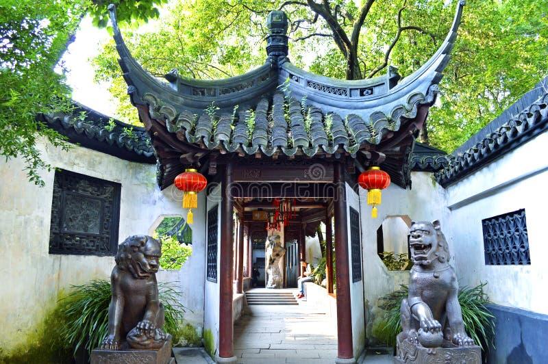 De Tuin van Shanghai Yu stock foto's