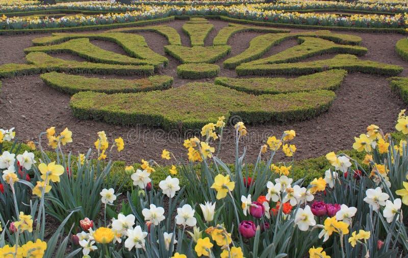De Tuin van Versailles stock foto's