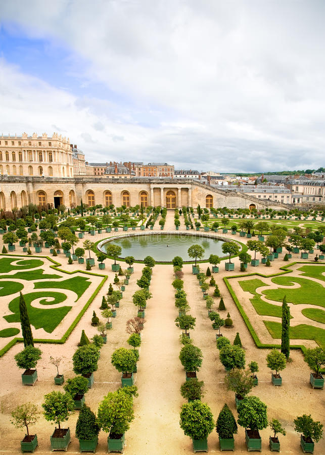 De Tuin van Versailles, Frankrijk royalty-vrije stock afbeelding