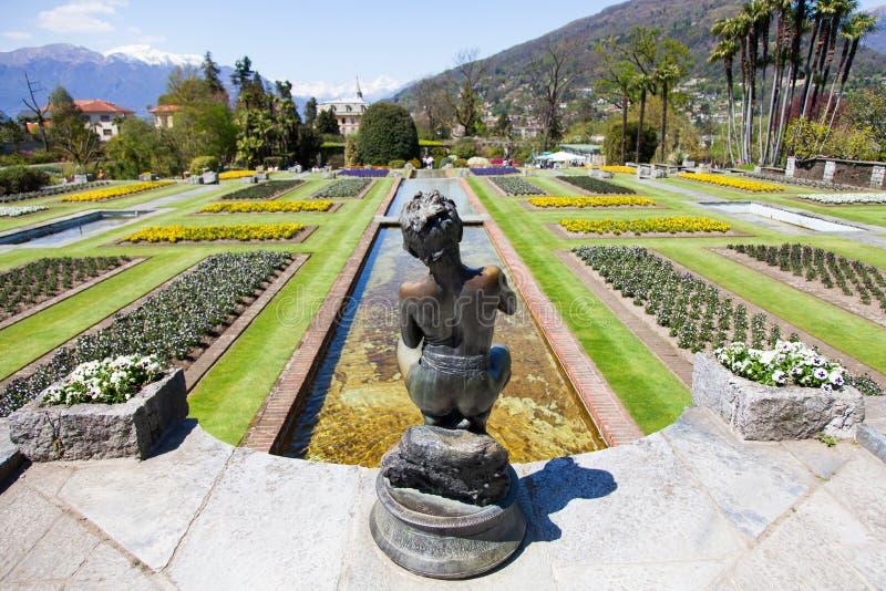 De tuin van villataranto stock foto's