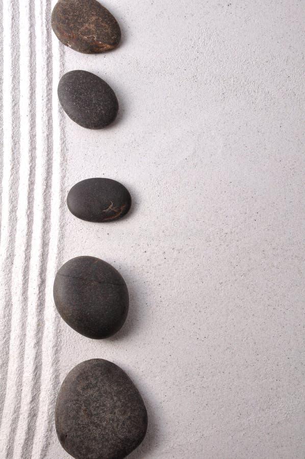 De tuin van Zen royalty-vrije stock fotografie