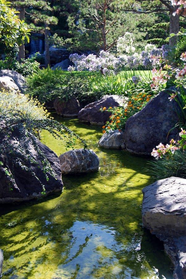 De tuin van Zen stock afbeelding