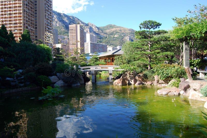 De tuin van Zen royalty-vrije stock foto