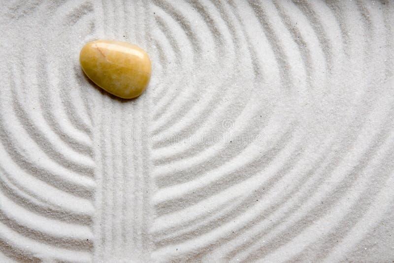 De Tuin van Zen van de rots royalty-vrije stock afbeeldingen