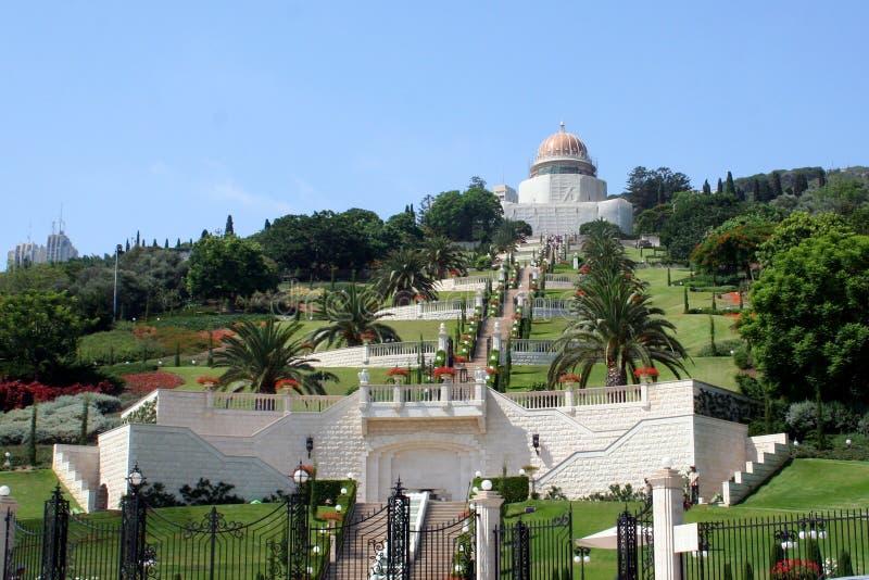 De Tuinen van Baha stock afbeelding