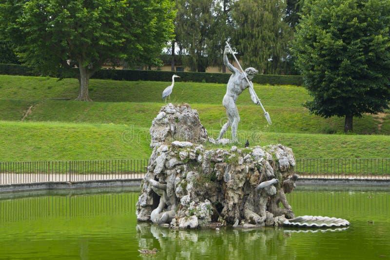 De Tuinen van Boboli royalty-vrije stock afbeeldingen
