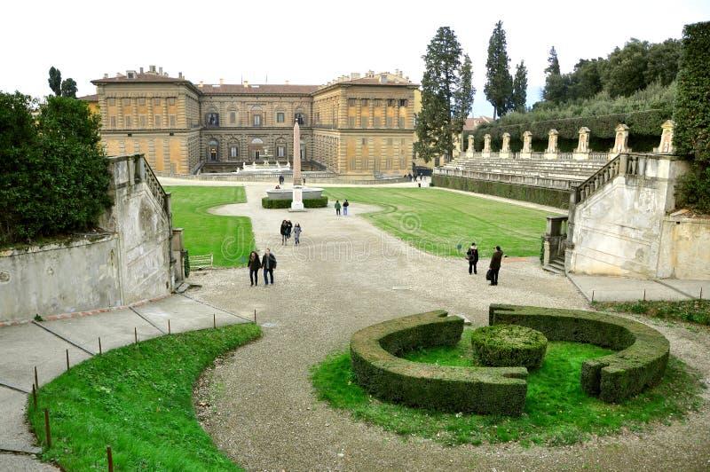 De tuinen van Boboli in Florence, Italië royalty-vrije stock afbeeldingen