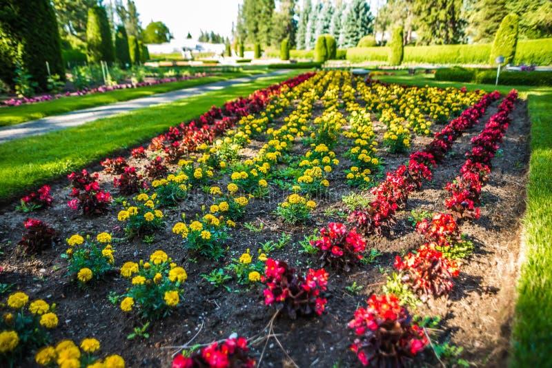 De tuinen van Duncan in Spokane wshington stock afbeelding