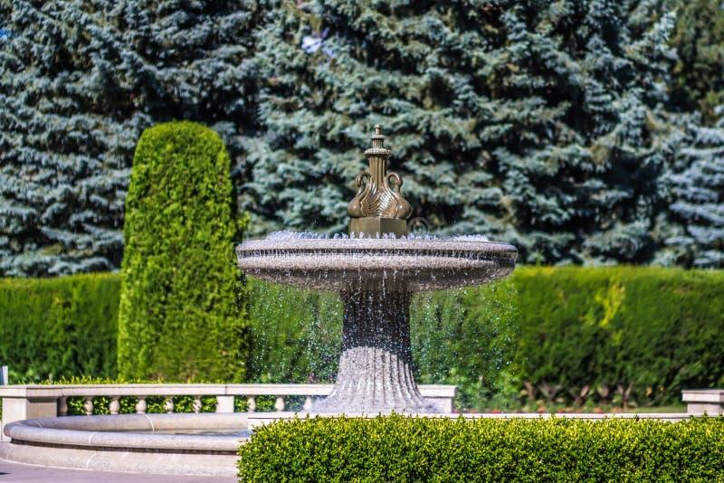 De tuinen van Duncan in Spokane wshington stock fotografie
