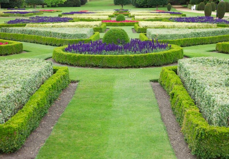 De Tuinen van het land royalty-vrije stock foto's
