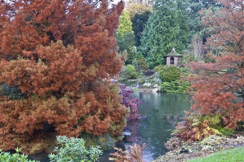 De Tuinen van het Landgoed van Sandringham stock foto