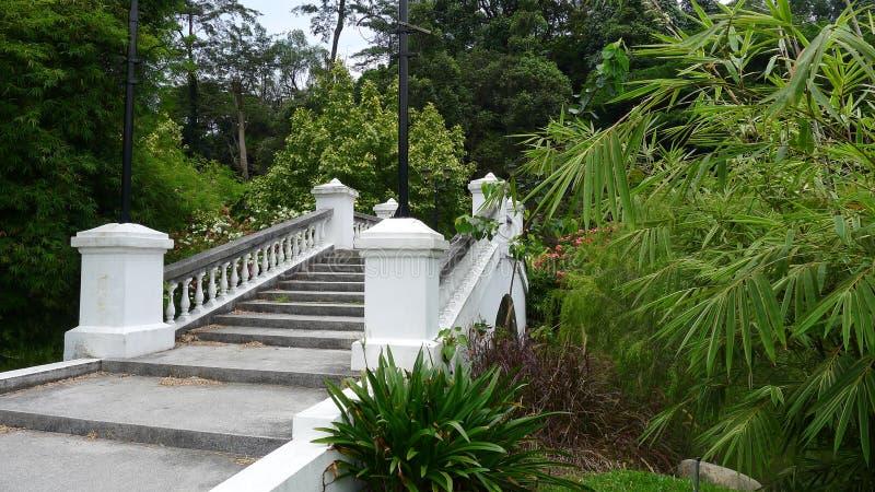 De Tuinen van het Perdanameer royalty-vrije stock afbeelding