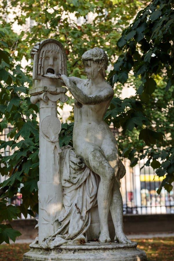 De Tuinen van Parijs - van Luxemburg royalty-vrije stock foto's