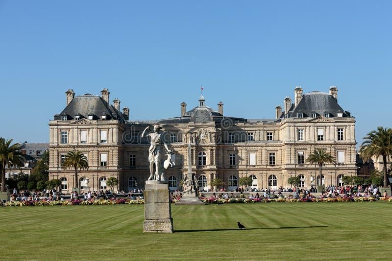 De Tuinen van Parijs - van Luxemburg royalty-vrije stock fotografie