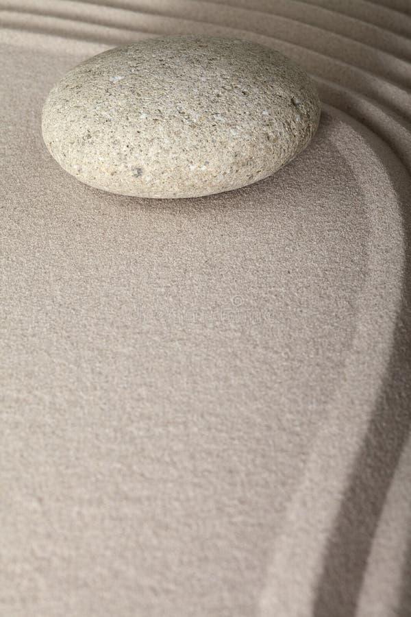 De tuinsteen van de Zenmeditatie stock afbeeldingen