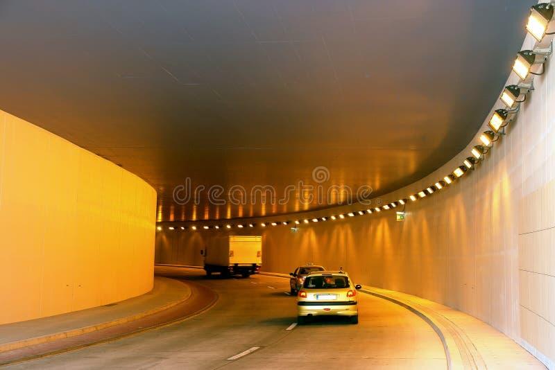 In de tunnel royalty-vrije stock foto's