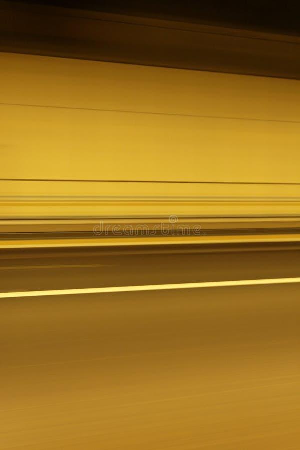 In de tunnel stock fotografie