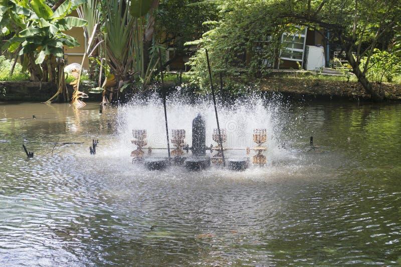 De turbine van het water royalty-vrije stock afbeeldingen